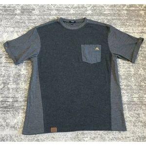Timeless Elements McDonalds L Gray Work Shirt